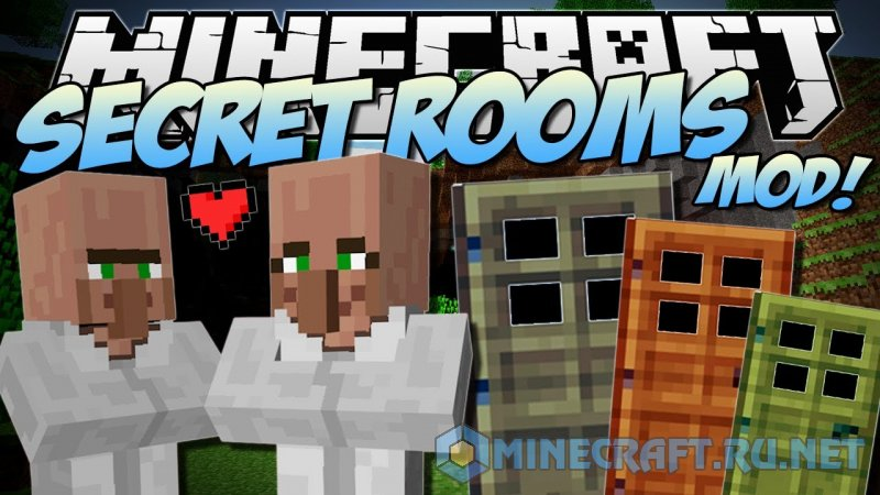 Minecraft Secret Rooms