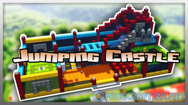 Minecraft Jumping Castle