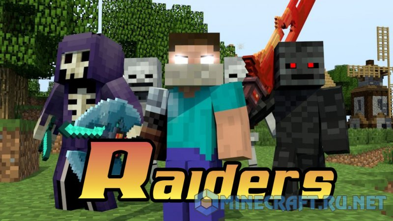 Minecraft Raiders