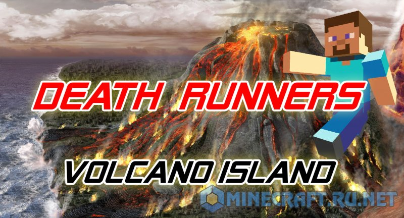 Minecraft Death Runners: Volcano Island